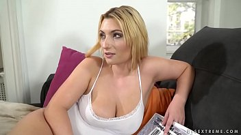 Busty babe needs some elder dick - Lucia Fernandez and Michael