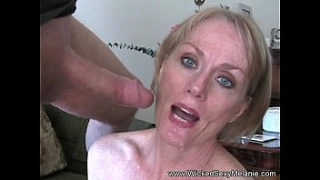 GMILF Amateur Blowjob & Facial Thumb