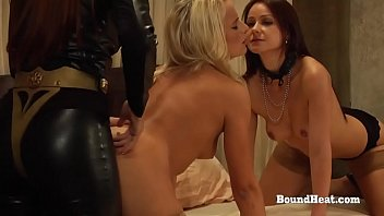 The Education of Erica: Lesbian Babes In Bondage Whipped And Punished By Dominant Mistress