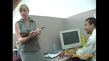 This could be the best bitchy boss in the world because she's really kinky.
