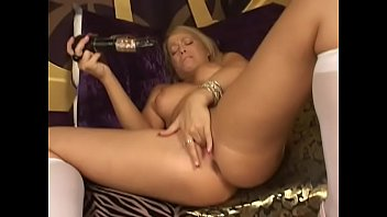 Fair-haired dazzling girl Brooke Scott was proposed to test multispeed vibrating dildo and share with her experience