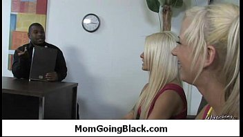 Hot Milf Mommy sucks and fucks a monster black cock 16