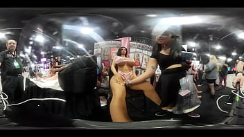 VR video of Mannequins and Dolls at EXXXotica NJ 2019