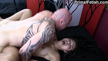 Interracial Erotic Massage w/Wild Orgasms and Fucking Thumb