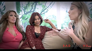 Hot MILF And Her Two Friends Fuck Her Son 8 min