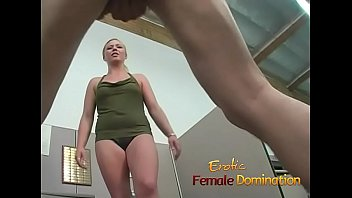 New employee gets back at her boss with some female domination