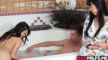 Asian 3some with Marica Hase and Cindy Satrfall