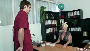 GERMAN MATURE HELP YOUNG VIRGIN BOY WITH HIS FIRST FUCK