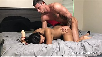Sexy Teen Alina Belle Has Her First Anal Experience With Her Step-Dad - Caught On Camera!