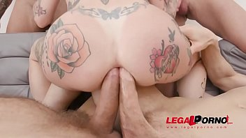 Megan Inky is punished for being a bad bitch by getting her asshole enlarged even further with DAP SZ2468 - 69VClub.Com