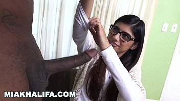 The most perfect pair of asian boobs - Mia khalifa - rico strong gives mia her very first big black cock