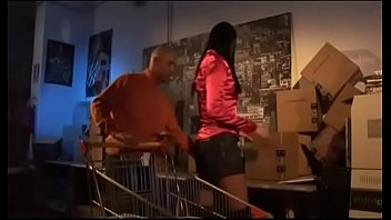 New orleans vintage stoes New sexy storekeeper fucked very hard in the warehouse