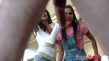 Mom And Sister Help Son's Dick Boo- Becky Bandini & Katya Rodriguez thumbnail