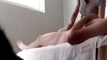 Real Masseuse Loves My Big Cock (Hidden Camera)