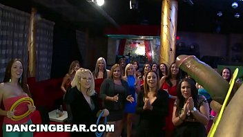 DANCING BEAR - Party Animals! Diverse Group Of Horny Females Sucking Dick