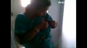Adult breastfeeding milk - Desi maid feeding her house owners son -