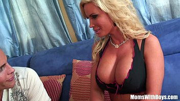 Slutty Blonde Housewife Diamond Foxxx Pierced Pussy Drilled
