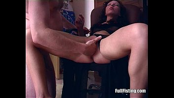 babe anally fucked in her gaping asshole