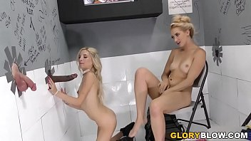Black lesbian ass in glory hole Piper perri and sierra nicole fucks bbc - gloryhole