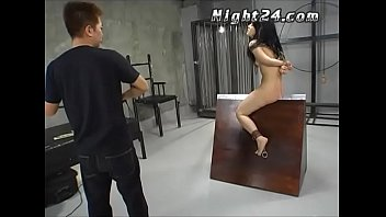 Japanese slave got interrogated hard to cry