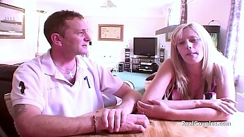 Blonde wife assfucked by husband 3 min