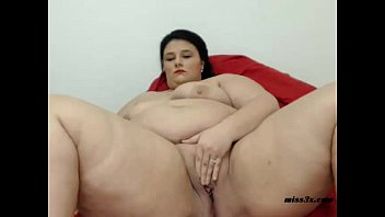 BBW webcam  mastrubation