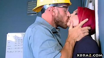 Big boobs boss Anna Bell Peaks fucks manager in her office
