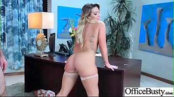 Office Sex Action With Sluty Horny Big Tits Girl (Cali Carter) clip-07