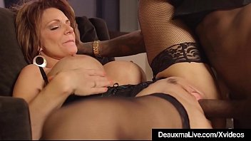 Hot Mature Cougar Deauxma Gets Drilled By A Big Black Cockexcl