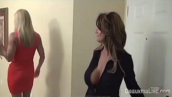 Deauxma is looking to get fucked, so she calls for an escort and gets a big surprise