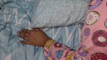 my teen stepsister was having wet dreams and I abused her while sleeping