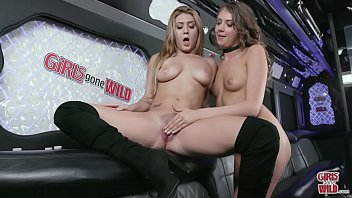 GIRLS GONE WILD - Kelly Works The Vibrator On Wendy's Young And Tender Pussy