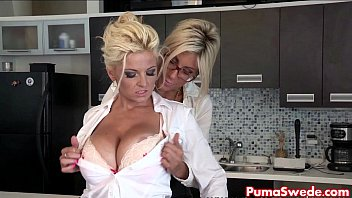 Busty eden mor - Euro babe puma swede fucks the office slut, bobbi eden