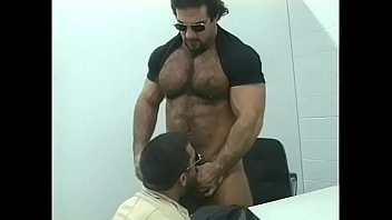Gay book exchange Stud taken for booking and gets cock in mouth and ass in jail cell