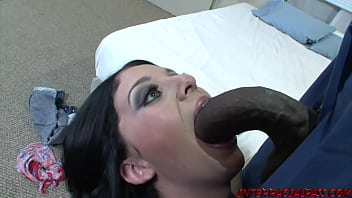 Madelyn Monroe gets her Pink Taco Stuffed Full of Black Cock