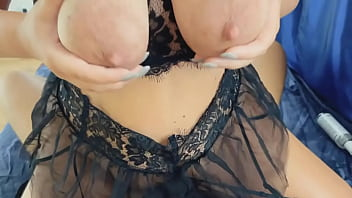Butt plug, big tits, anal sex and pussy fuck for milf