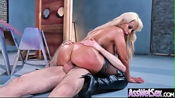 Anal Deep Sex Tape With Huge Round Ass Horny Girl (Bridgette B) movie-12