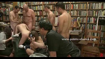 Public club used by perverts in orgy