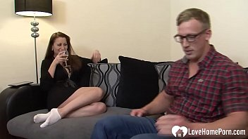Once their son went to his room, this amateur couple fucked in hardcore fashion