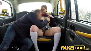 Fake Taxi Sexy redhead hot taxi suck and fuck on a snowy day