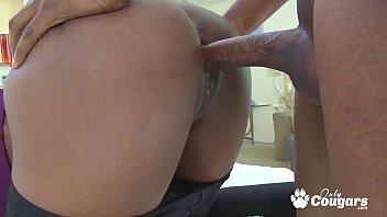 Layton Benton Gets A Big Load Shot On Her Black Bubble Butt