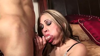 Persia gets fucked in the bedroom by her horny son's friend