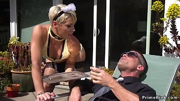 Milf tied partyguy and torments thumbnail