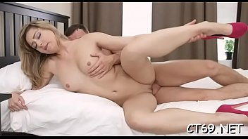Passionate seduction results in a breathtaking fucking with a floozy