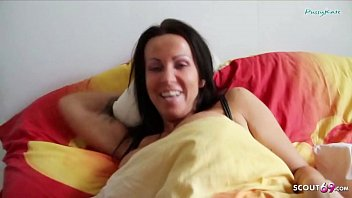 German Son Wake up Step Mom and Seduce her to Fuck 11 min