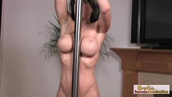 Biker rally stripper pole pics - Big boobs and pole dancers make the party hot