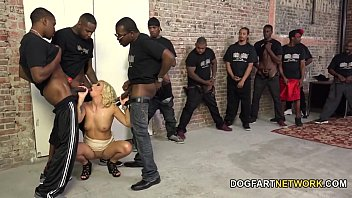 Cindy Lou Lets A Dozen Black Guys Fuck Her