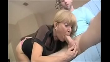 POV Blowjob From Mature Mommy