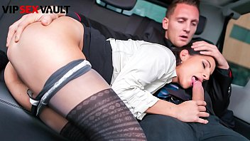 VIP SEX VAULT - #Jocelyne - Czech Brunette Blows And Fucks With Matt Ice On His Car