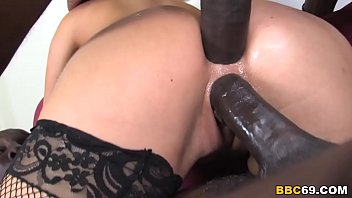 Dp white on black xxx Best present for aleska diamond: double penetration